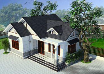 Nhà cấp 4 mái Thái 3 phòng ngủ được ưa chuộng nhất