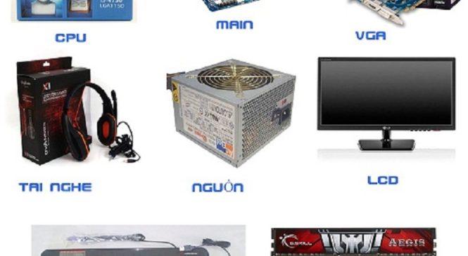 Tìm cửa hàng bán linh kiện máy tính giá rẻ tại Hà Nội