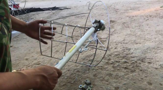 Hướng dẫn chi tiết cách chế tạo máy gặt lúa bằng máy phát cỏ
