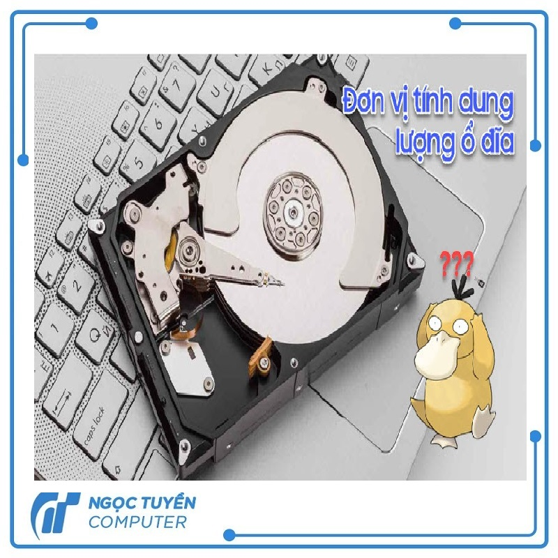 Khám phá các đơn vị tính dung lượng ổ đĩa chi tiết nhất
