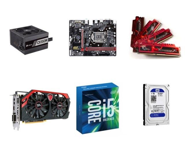 Linh kiện máy tính dành cho PC gaming cũ được ưa chuộng nhất hiện nay