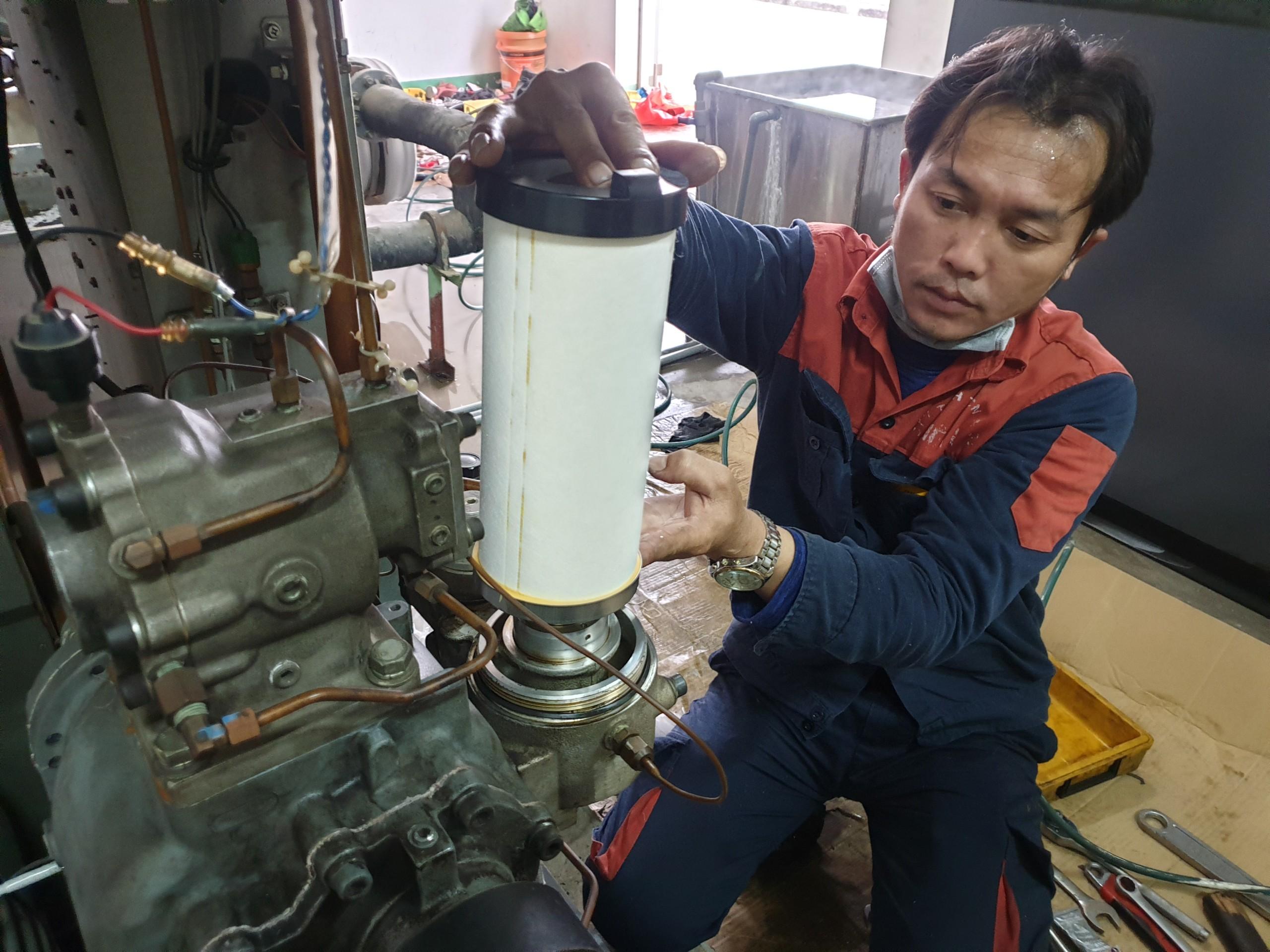 Bốn bước bảo dưỡng máy nén khí hiệu quả?